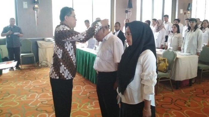 55 Relawan Demokrasi Dilantik, Diharapkan Dongkrak Partisipasi Pemilu di Kota Magelang