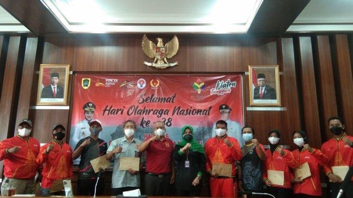 6 Atlet Asal Klaten Perkuat Jateng di PON XX Papua, Bupati Sri Mulyani Sampaikan Hal Ini