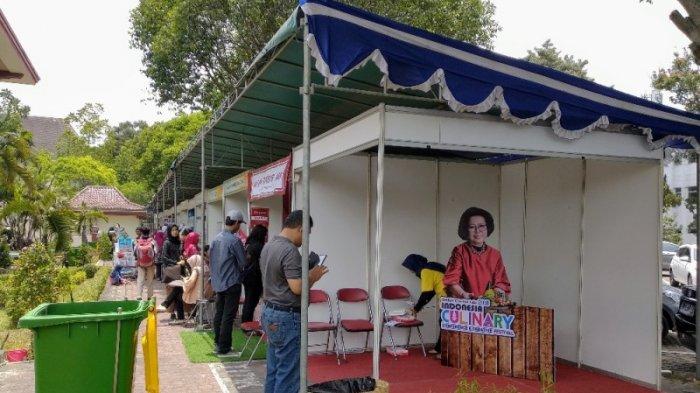 65 Stand Kuliner Ramaikan Indonesia Culinary di GSP UGM