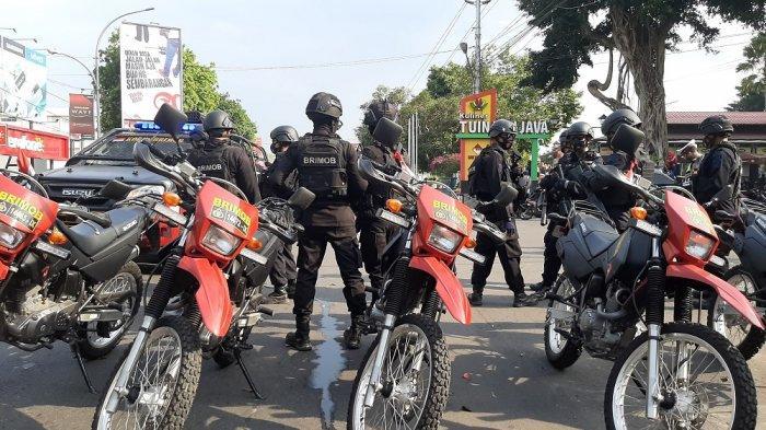 670 Personel Brimob Kepolisian Akan Diterjunkan untuk Amankan Unjuk Rasa di Kota Magelang