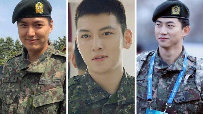 7 Idol K-Pop dan Aktor Pria yang Keluar Wajib Militer di Tahun 2019 -  Tribun Jogja