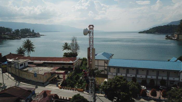 70 Desa di Sekeliling Danau Toba Terlayani Jaringan 4G XL Axiata