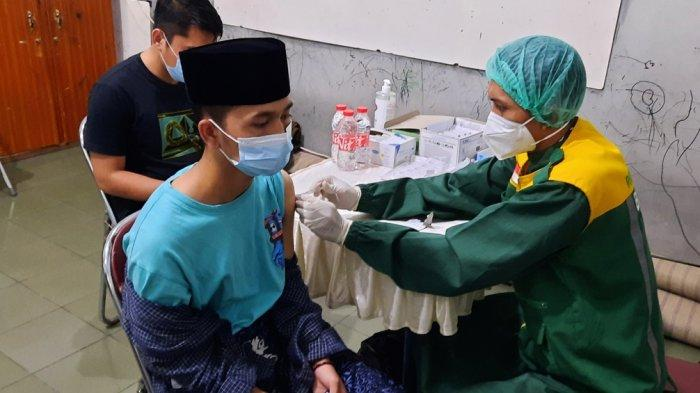 75 Persen Santri di DI Yogyakarta Sudah Tervaksin Covid-19