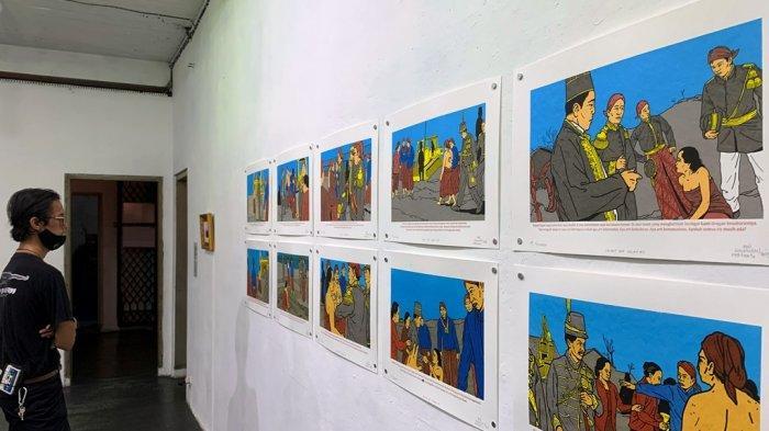 Rubrik Art and Culture: Sarkastik Situasi Politik Indonesia Dalam Pameran 'Complex Terrors'