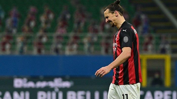 Zlatan Ibrahimovic Diprediksi Lewatkan Pertandingan Leg Pertama Lawan Man Utd