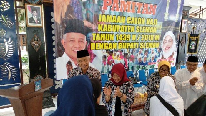 Ibadah Haji 2018 - Bupati Lepas 1221 Calon Jemaah Haji Asal Sleman