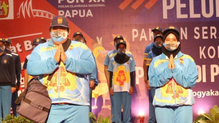 KONI DIY Resmi Luncurkan Seragam Kontingen Untuk PON XX Papua