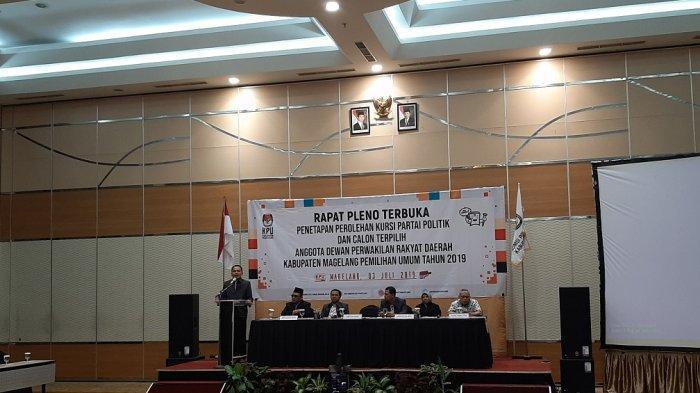 KPU Kabupaten Magelang Tunda Penetapan Perolehan Kursi dan Calon Terpilih