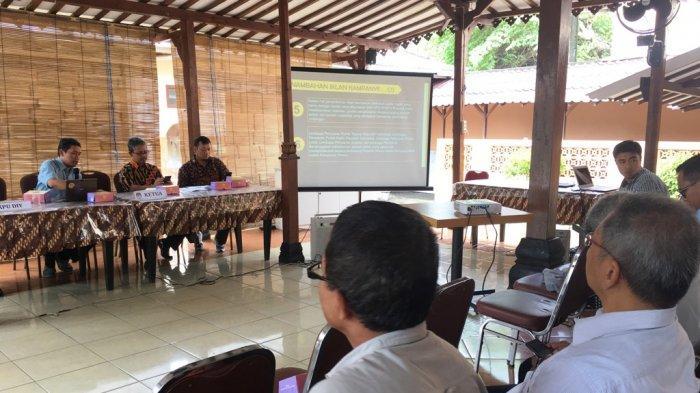 KPU Koordinasi Masa Iklan Kampanye dan Kampanye Rapat Terbuka Bersama Awak Media dan Parpol