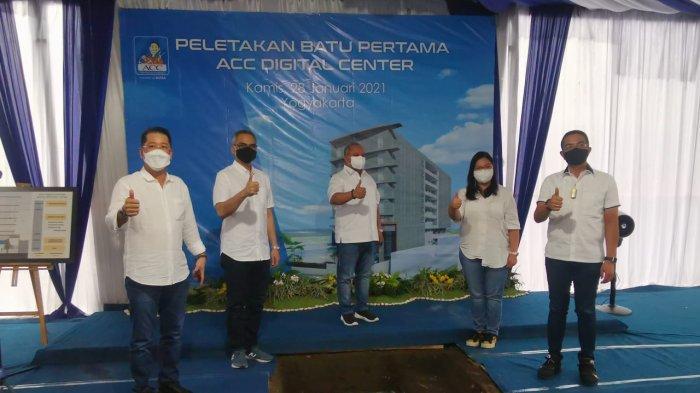 ACC Lakukan Peletakan Batu Pertama Pembangunan Digital Operation Center di Yogyakarta