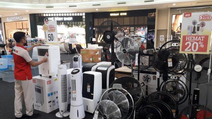 ACE Hartono Mall Yogyakarta Gelar Bazaar Kipas Angin, Ini Kelebihan Penyejuk Ruangan Dibanding AC