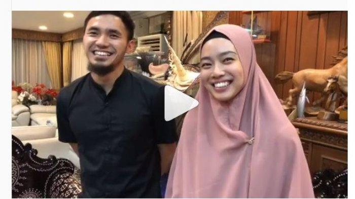 Lindswell Kwok Kenakan Hijab Berdampingan dengan Atlet Wushu Achmad Hulaefi, Begini Kata Menpora