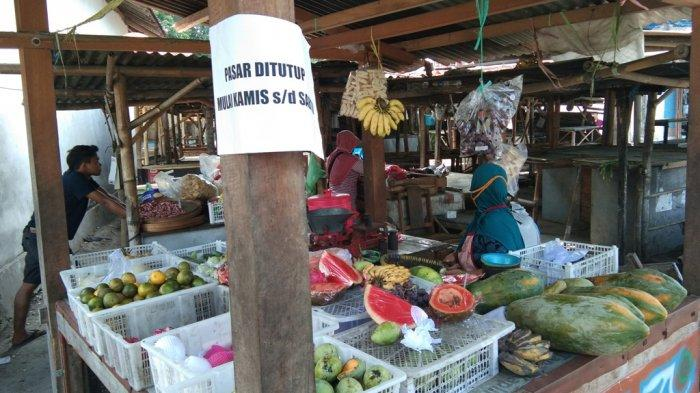 Ada Pedagang Reaktif COVID-19, Pasar Basin Klaten Ditutup Tiga Hari