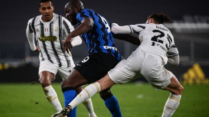 JUVENTUS 0-0 INTER MILAN: Girangnya Pirlo Sukses Matikan Serangan Pasukan Conte