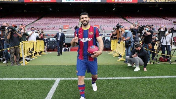 BURSA Transfer: Aguero Ingin Hengkang dari Barcelona? Dua Klub London Ini Siap Menampung