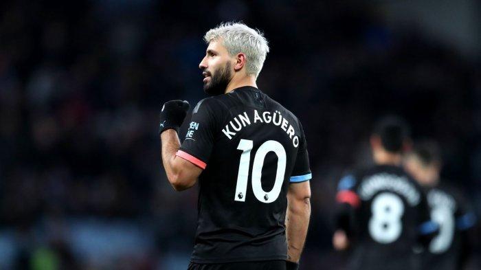 Kata Pep Guardiola, Kun Aguero Bakal Bermain dengan Pemain Terbaik Sepanjang Masa