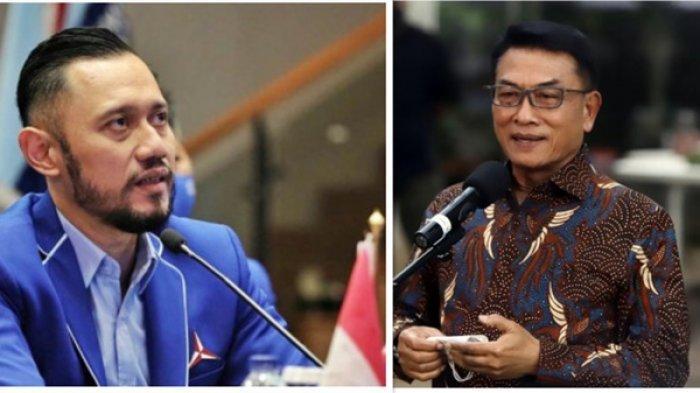 Agus Harimurti Yudhoyono (AHY) dan Moeldoko
