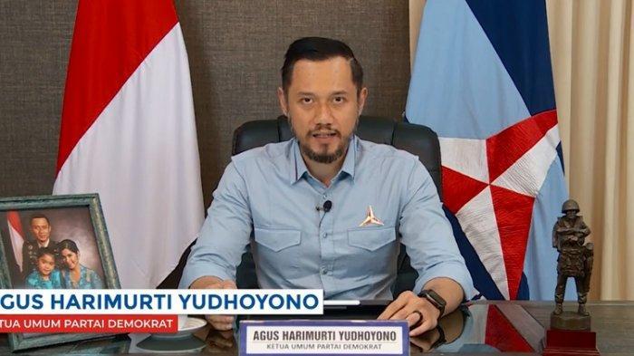 AHY Umumkan Susunan Kepengurusan Partai Demokrat 2020-2025, Tunjuk Teuku Riefky Harsya jadi Sekjen