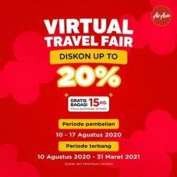 AirAsia Indonesia Tawarkan Diskon Tiket Hingga 20%