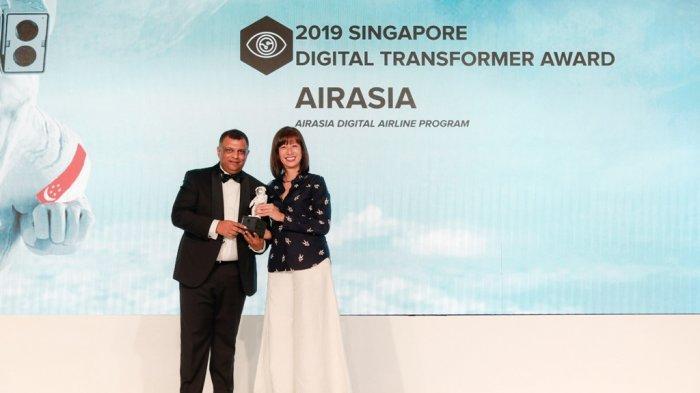 AirAsia Raih Asia Pacific Digital Transformer of The Year di Ajang IDC DXa 2019