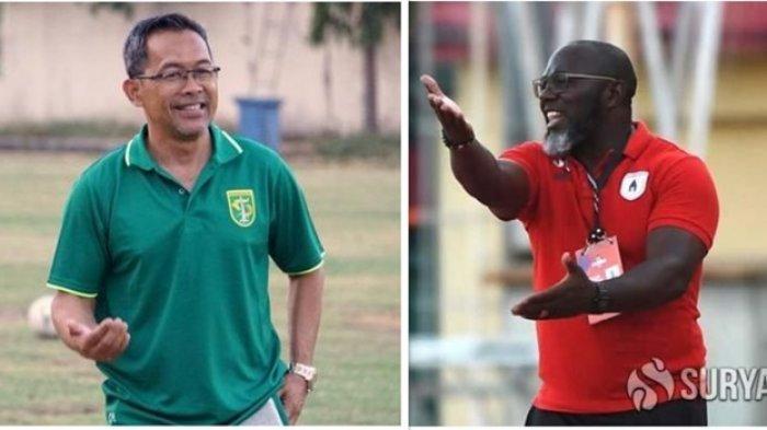 Jelang Persebaya Surabaya vs Persipura Jayapura Liga 1 2020 - Kesiapan Aji Santoso dan Jacksen Tiago