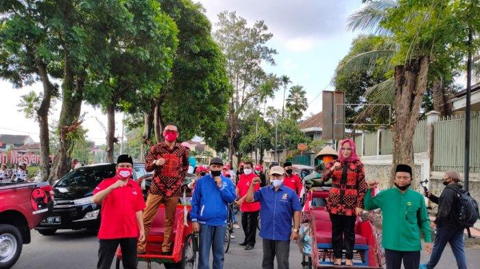 Targetkan Menang, Aji-Windarti Diusung Empat Partai pada Pilkada 2020 Kota Magelang