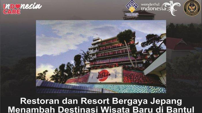 Restoran dan Resort Bergaya Ala Jepang Menambah Destinasi Wisata Baru di Bantul