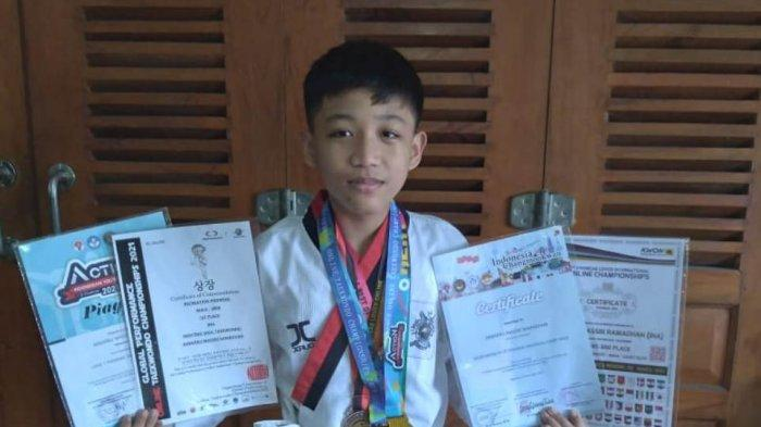 Akbarru Massri Ramadhan, Atlet Belia Asal DIY Raih Medali Emas di Kejuaraan Internasional Taekwondo