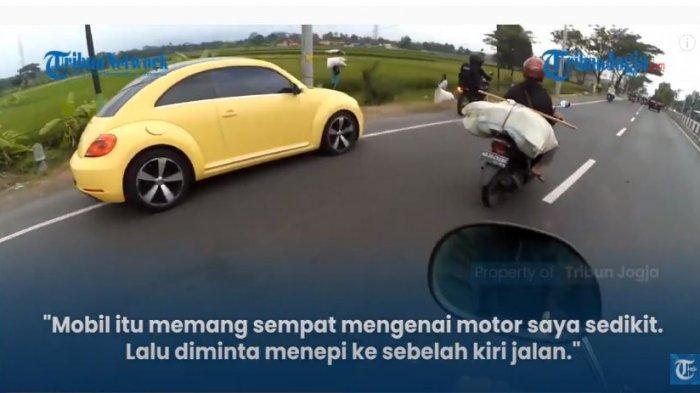 Status Hukum Pengemudi Mobil VW Beetle yang Terobos Penyekatan Mudik