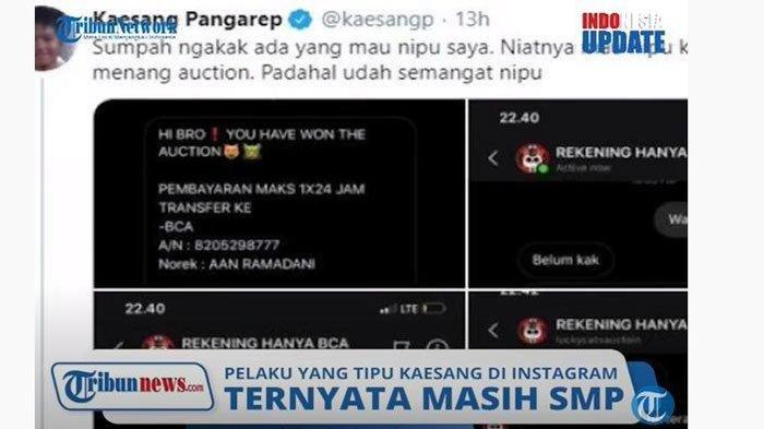 Akhir Cerita Penipu Anak Presiden Jokowi, Ditangkap Polisi Setelah Sempat Minta Maaf ke Kaesang
