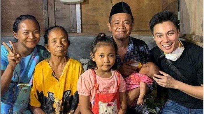 Aksi Baim Wong Membantu Sopir Angkot Viral yang Bawa Bayi di Semarang karena Istri Meninggal