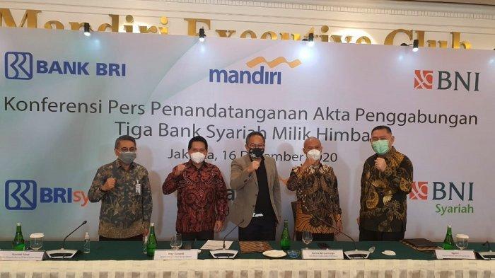 Akta Penggabungan Tiga Bank Syariah Sebagai LangkahTerbentuknya Bank Syariah Indonesia