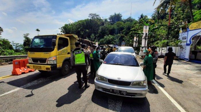 Polda DIY Putar Balikkan 7.996 Kendaraan Selama Ops Ketupat Progo 2021