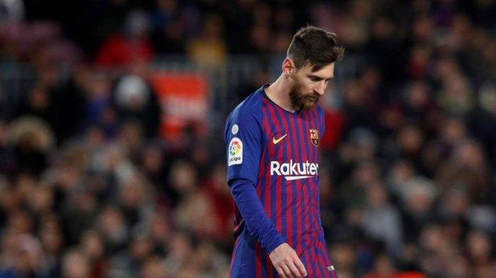 Alami Cedera, Barcelona Khawatir Lionel Messi Tak Tampil di Semifinal Copa del Rey