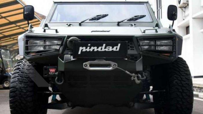 Pindad Belum Membuka Pesanan Mobil Maung Tipe Sipil
