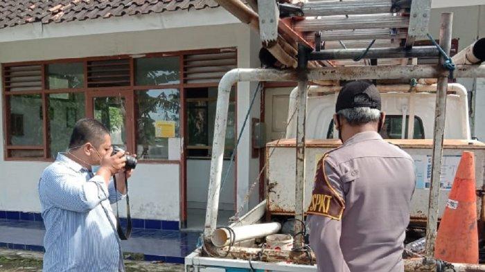 Alat Kerja di Kantor Pos Jaga PLN Dusun Weton Kulon Progo Digasak Maling