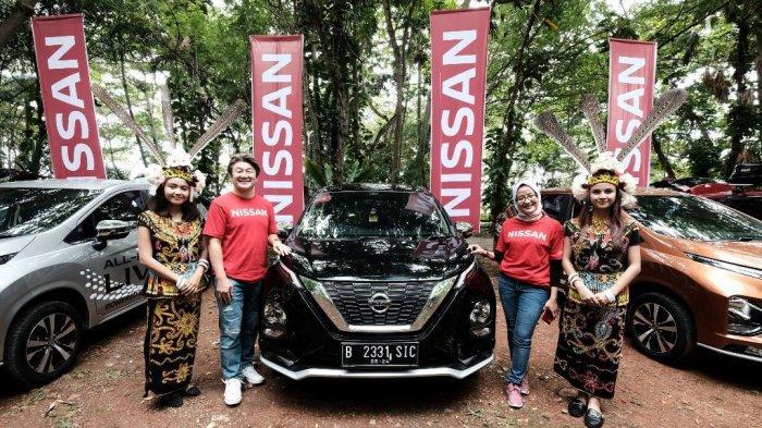All New Nissan Livina Menjelajah Ibu Kota Baru di Borneo