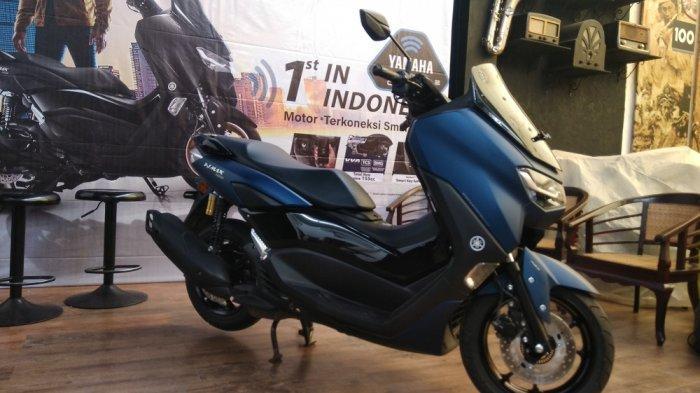 All New Nmax Connected/ABS Pelopor Teknologi Sepeda Motor Terkoneksi Smartphone