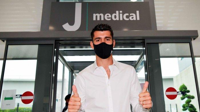 Alvaro Morata telah kembali ke Juventus dengan kesepakatan pinjaman 12 bulan pertama dari Atletico Madrid