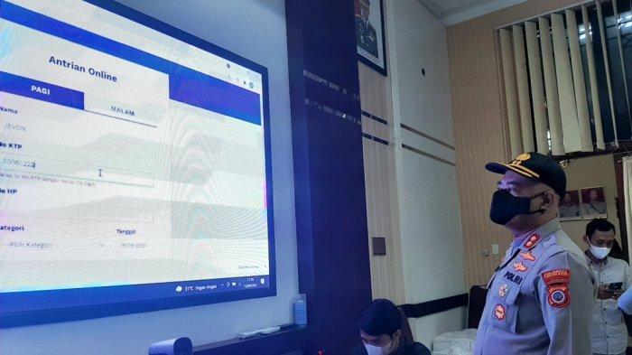 Ambil Nomor Antrean Urus SIM dan SKCK di Polresta Yogyakarta Kini Bisa dari Rumah