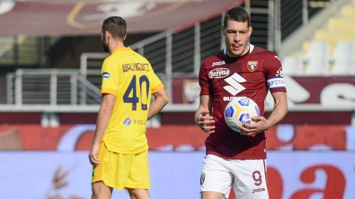 Andrea Belotti, penyerang Torino incaran Inter Milan
