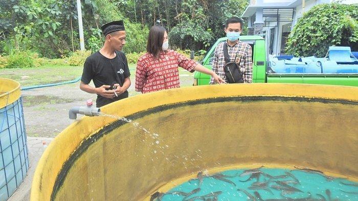 Anggota DPR RI Perangi Stunting Melalui Budi Daya Ikan Lele