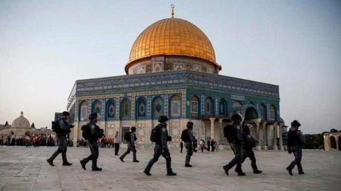 Bentrok Polisi Israel dengan Warga Palestina di Komplek Masjid Al Aqsa, Ratusan Orang Terluka
