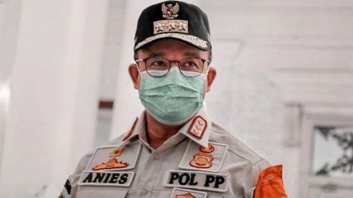 Guberbur DKI Jakarta Anies Baswedan melakukan inspeksi mendadak (sidak) ke sejumlah restoran Ibu Kota pada Sabtu (8/8/2020) malam.