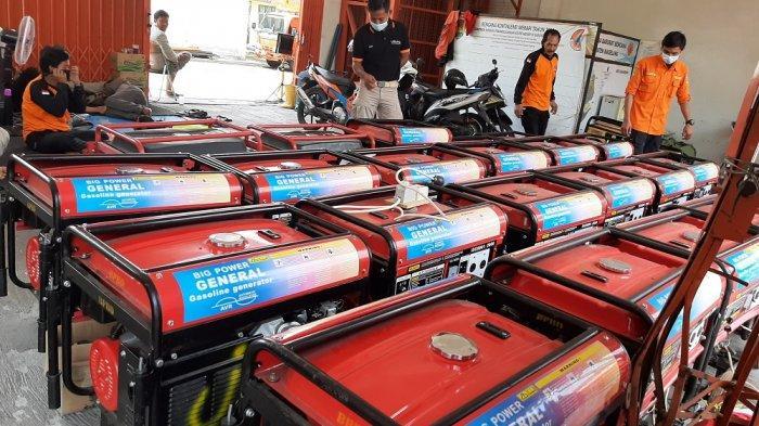 Antisipasi Erupsi Gunung Merapi, BPBD Kabupaten Magelang Siapkan Puluhan Genset