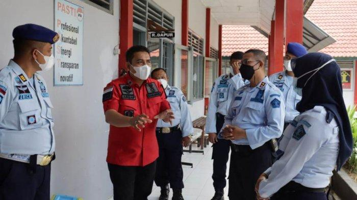 Antisipasi Kebakaran, Kakanwil Kemenkumham DIYMonitoring ke Lapas Kelas IIB Sleman