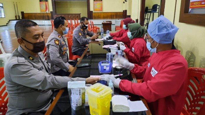 Antisipasi Menipisnya Stok Darah, Polres Magelang Gelar Kegiatan Donor Darah