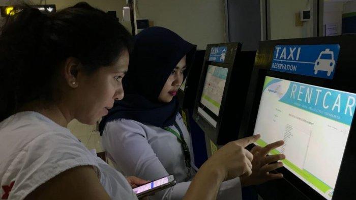 AP I Bandara Adisutjipto Yogyakarta Luncurkan Sistem Kios-K Reservasi Taksi dan Angkutan Darat