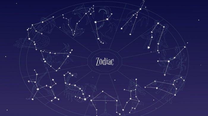 Ilustrasi ramalan zodiak.