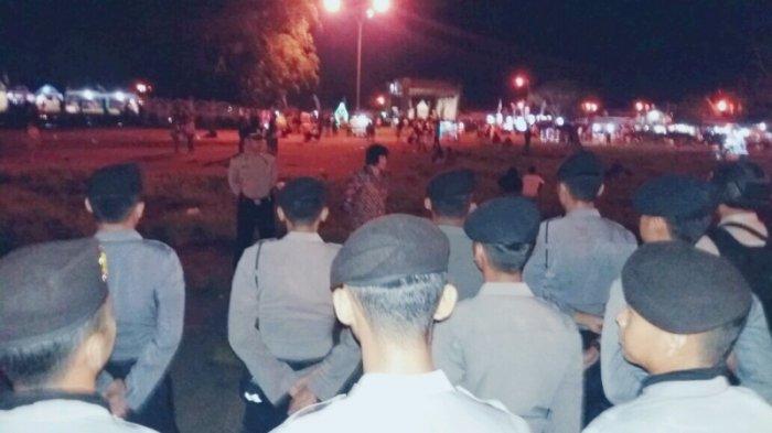 Kawal Aksi Panggung Via Vallen, Polisi Terjunkan Puluhan Personil
